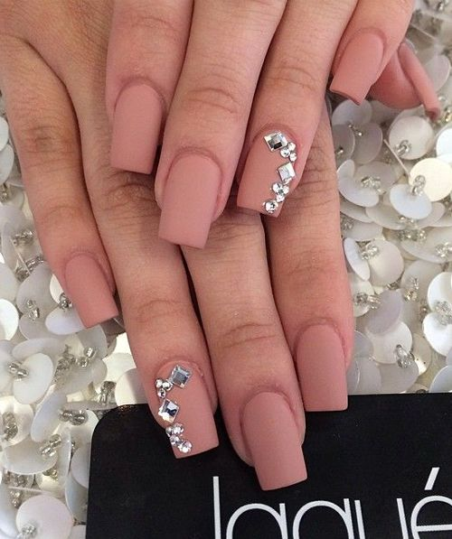 Best 25+ Square Nail Designs Ideas On Pinterest