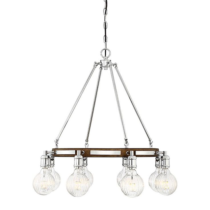 Savoy House 1-3403-8-73 Barfield Eight-Light LED Chandelier