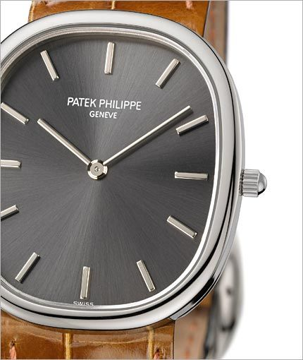 PATEK PHILIPPE SA - Ellisse d'Oro Ref. 3738/100G-012 Oro bianco /// Founded in 1842, GOBBI is an official retail store for refined jewelleries and luxury watches such as Patek Philippe in Milan. Check the website : http://www.gobbi1842.it/?lang=en