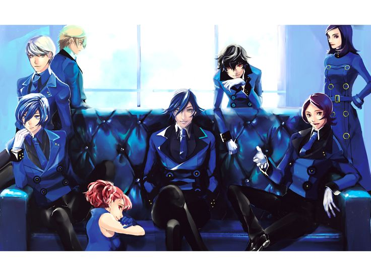 Persona protagonists in Velvet Clothes!