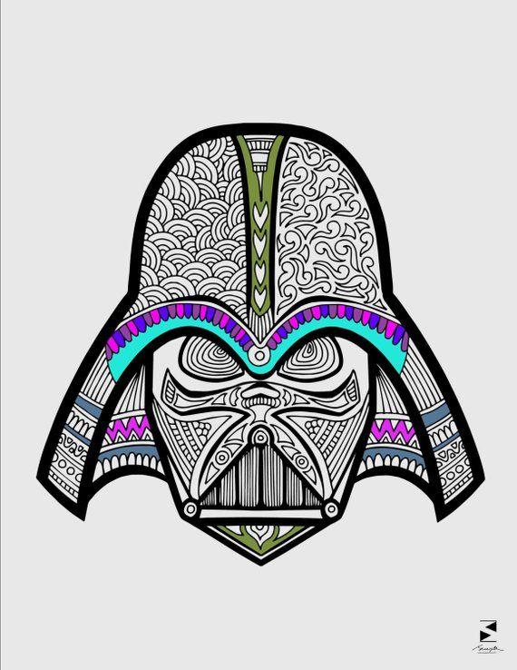 Star Wars Coloring Page Darth Vader Coloring Page Printable