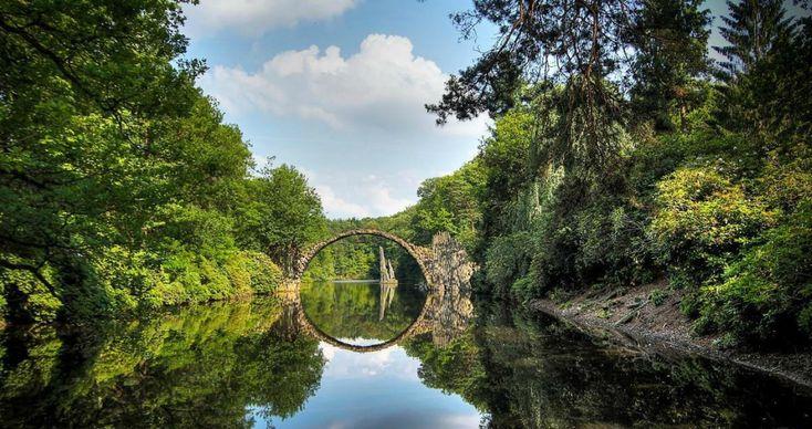 Мистический мост Ракотцбрюке - Лучшие фотографии со всего света