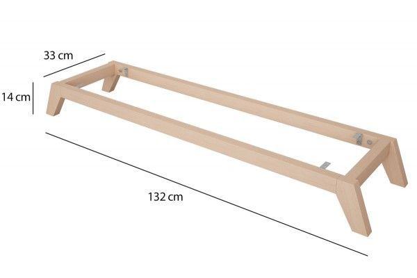 Kallax Regal Untergestell Aus Holz Schrage Fusse Aus Diygardenfurnitureikeahacks Fusse In 2020 Ikea Kallax Shelf Kallax Ikea Kallax Shelf