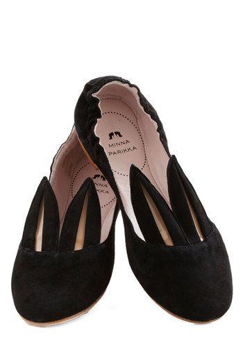 Little Bunny Shoe Shoe Flat, #ModCloth