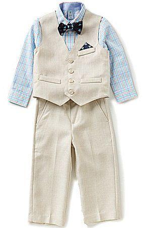 Class Club Little Boys 2T-7 4-Piece Vest Suit Set