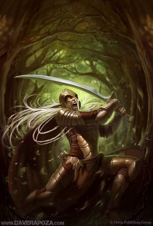 wild elf warrior