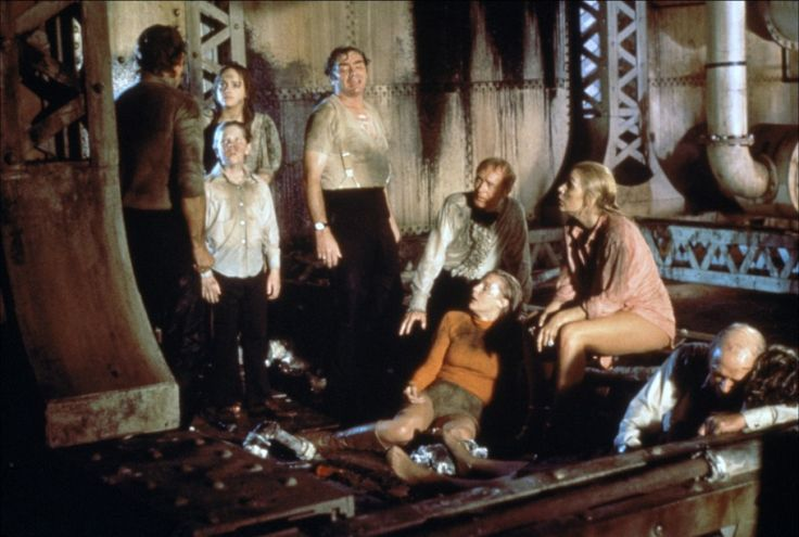 The Poseidon Adventure 1972 Eric Shea Red Buttons