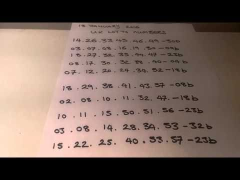 13 January 2016 lottery numbers generator - http://LIFEWAYSVILLAGE.COM/lottery-lotto/13-january-2016-lottery-numbers-generator/
