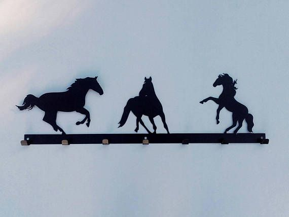 Check out this item in my Etsy shop https://www.etsy.com/listing/508471250/country-horse-metal-coat-rack-hooks