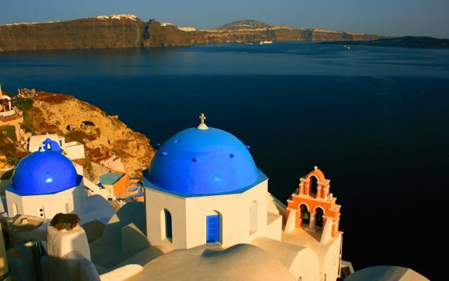View from #Caldera! #Santorini #AegeanSea