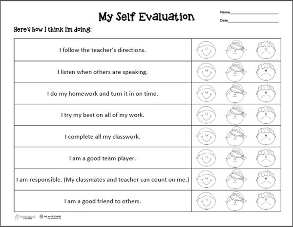teaching self evaluation essay There have been 25 studies that have shown that teaching students self-regulation strategies in writing has improved their ability to writing self-evaluation essays.