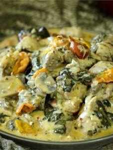Easy Keto Tuscan Chicken