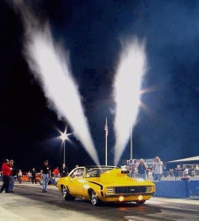 sweet. nitrous purge! this is what i want in my challenger before high school ends