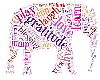 Tagxedo- A site where you can enter words or url's and create beautiful word clouds