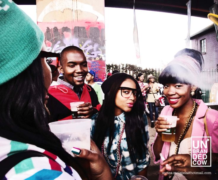 Back to the city, a drink and a puff at an annual hip hop event. Johannesburg South Africa.
