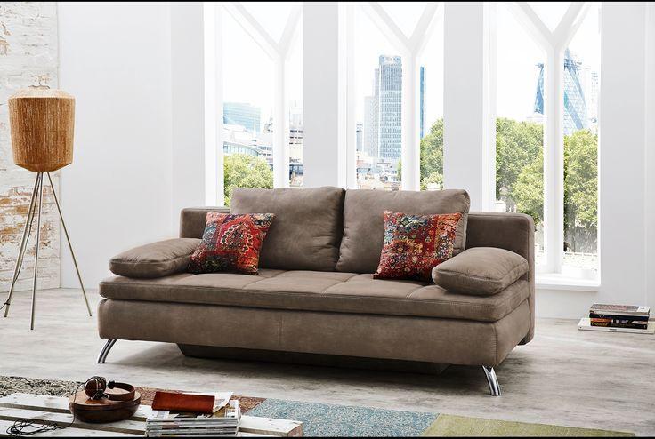 """""""Funktionssofa Jerami"""" Hochwertiges Sofa mit Schlaffunktion."""