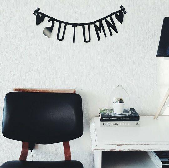 #Wordbanner #tip: #Autumn - Buy it at www.vanmariel.nl - € 11,95