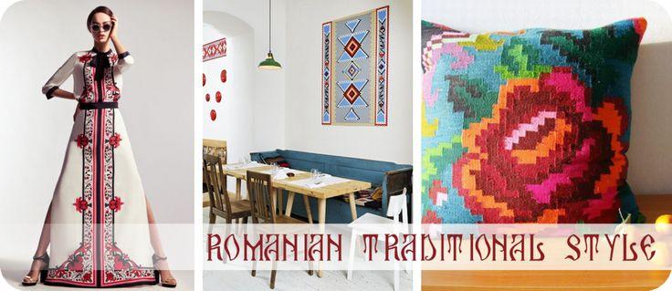 Stilul traditional romanesc reinterpretat