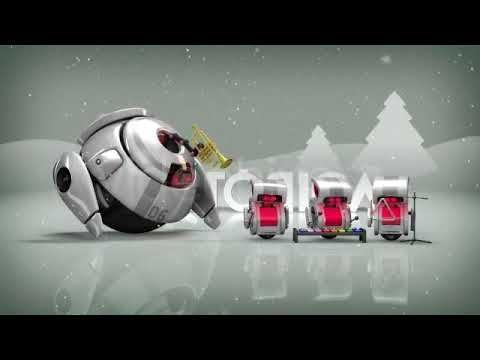 After Effects intro template | Robots 3D Christmas Special II + Free Dow...