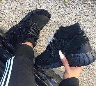shoes adidas sneakers black high top sneakers black sneakers adidas shoes