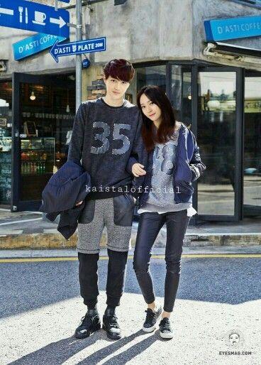 EXO Kai and f(x) Krystal suit each other perfectly ✌✌ #kaistal #kai #krystal #exo #f(x)