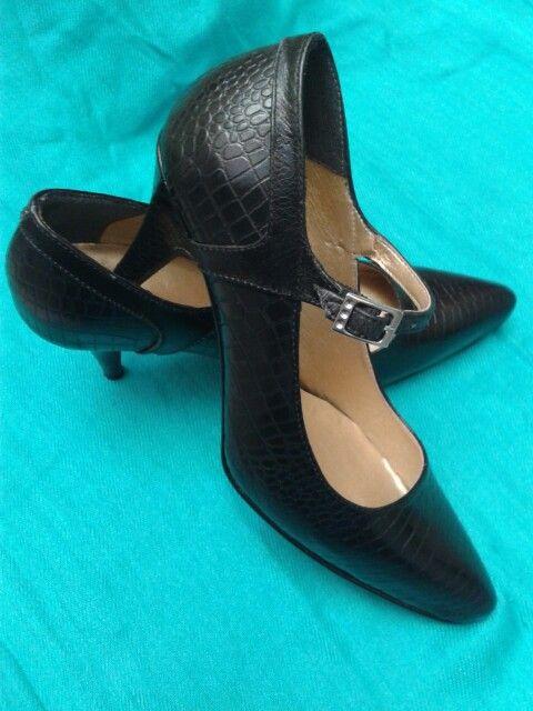 Zapatos en cuero Negro★