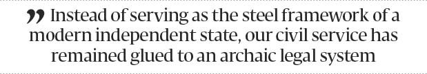 Reforming the civil service - The Express Tribune