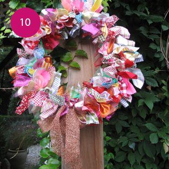 DIY : Réaliser une couronne de noël - Ma petite Mercerie, le blog