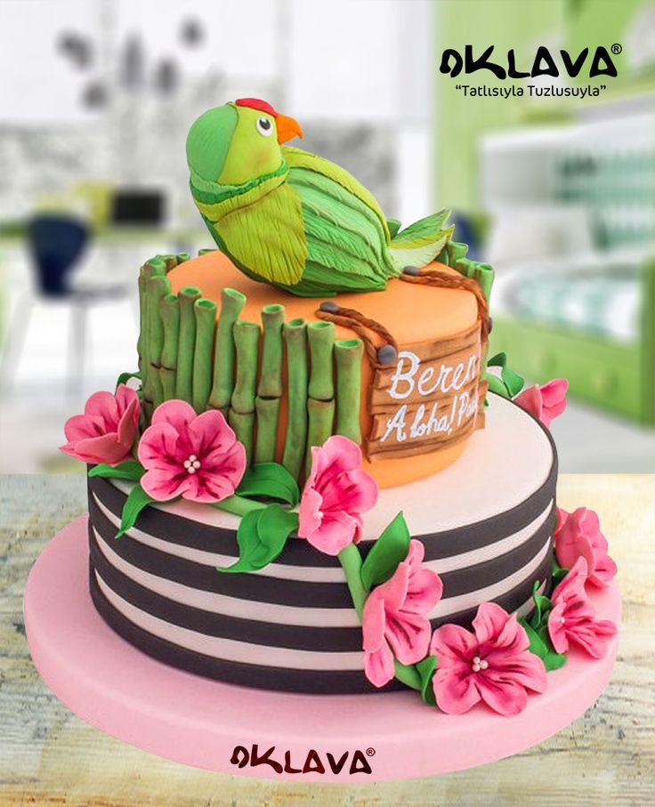 Papağanlı Tropikal Pasta size ve sevdiklerinize özel pastalar. Ürün fiyatı ve detayları için tıklayınız. Veya 0212 503 43 73 telefon numaramızdan arayınız.