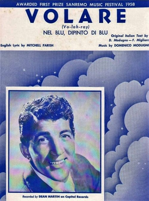 Image result for dean martin volare