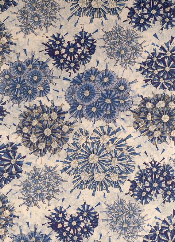 Liberty of London tana lawn fabric Maud 9 x 26 by MissElany, $6.50