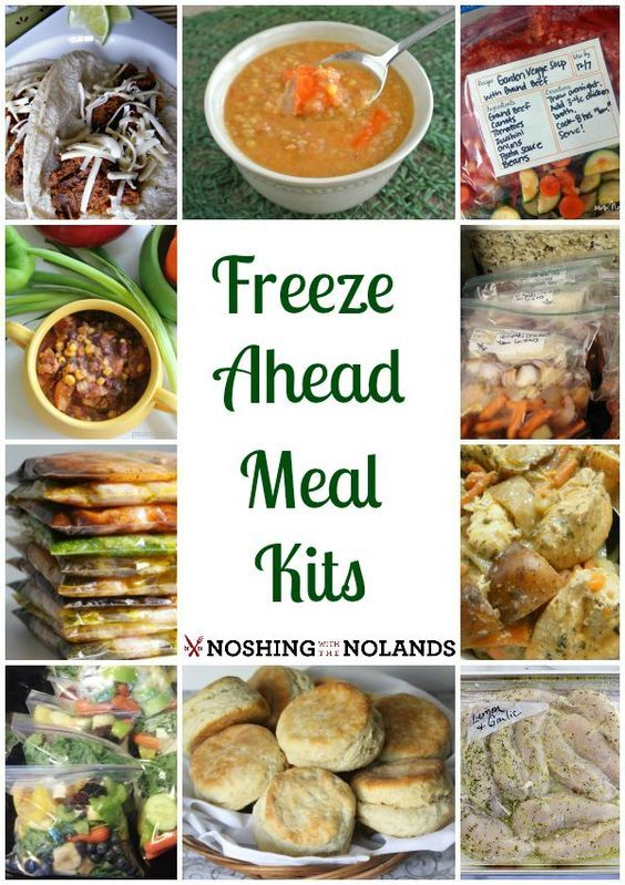 Freeze Ahead Meals Kits by Noshing With The Nolands is an outstanding collection of appetizing recipes. A terrific way to save time when the prep work is already done on a busy night!