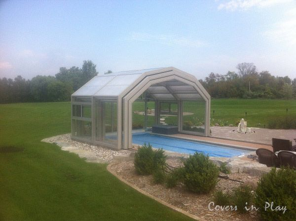 | Pool Cover  Retractable  | Pool Enclosure | Can pool enclosures be used all year around? Can you connect the enclosures to your house? Do you need to remove snow? Do you need permit? These may be some of your questions. Want to know answers. Visit: http://www.coversinplay.com/faq.htm