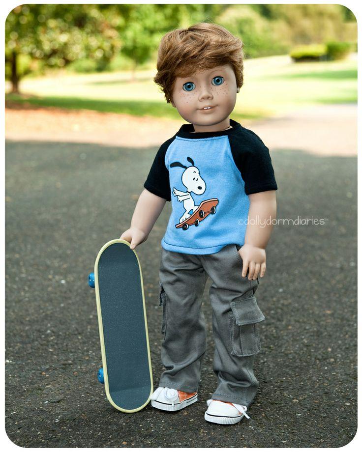 how cute are these custom american boy dolls?
