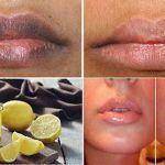 Receita caseira que deixa os lábios macios e brilhantes em apenas 10 minutos! Vais adorar!
