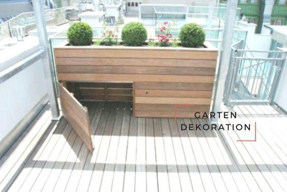 Hochbeet Mit Stauraum Diy Garden Projects Outdoor Furniture Sets Outdoor Decor