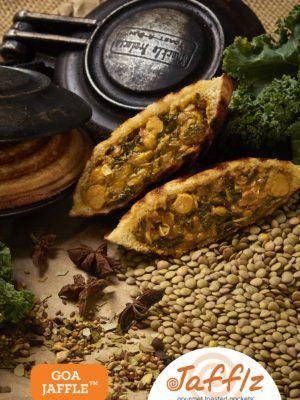 Jafflz Vegetarian Gluten Free Ready-to-Eat Pre-Made Sandw...