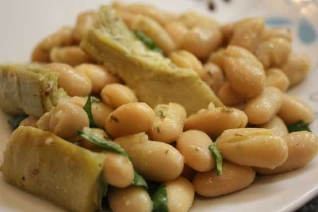 Post image for Hot Weather Recipes: 'No cook' Food (Salmorejo and Cannellini Bean-Artichoke Heart Salad)