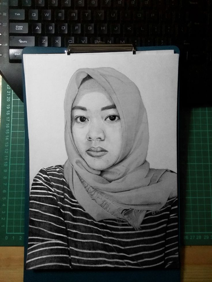 Sketsa Pensil A4