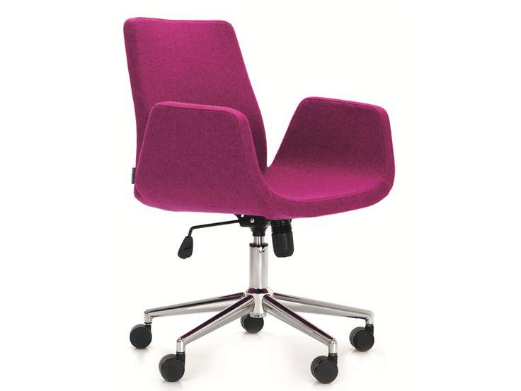Nero chair, 5 star base