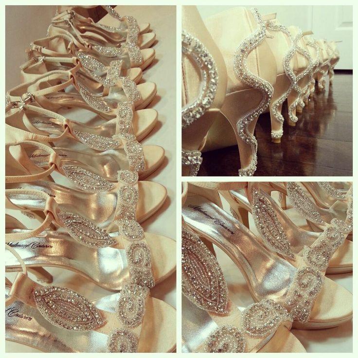 Bespoke Amelia's Bridesmaid Shoes