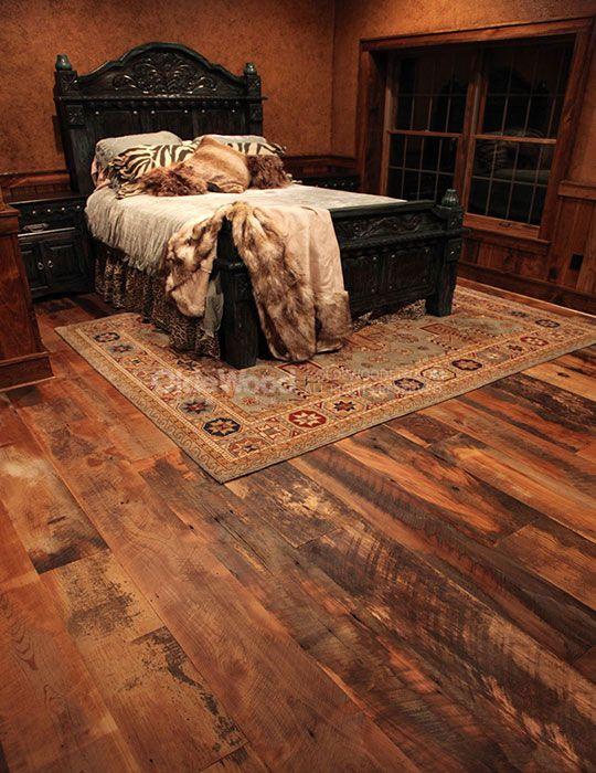 Reclaimed Historic Plank Flooring | Rustic Wood Floor | Olde Wood