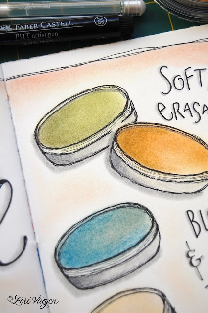 pan pastels ... learned about these over at elvie's blog