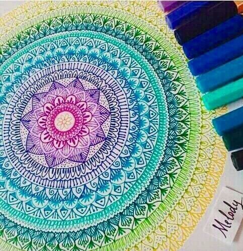 Image via We Heart It #wowcolors