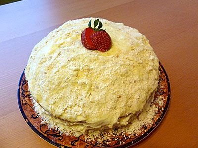 Cheesecake Factory Italian Cream Cake Knockoff - Everyday Foodie Blog - www.everydayfoodieblog.com