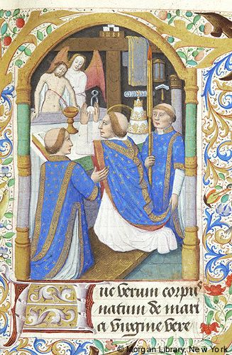 Book of Hours, MS M.26 fol. 26r - Images from Medieval and Renaissance Manuscripts - The Morgan Library & Museum