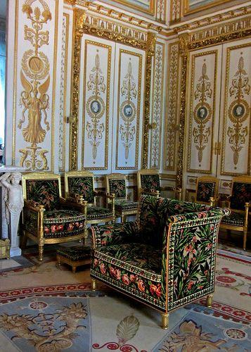 Chateau de Fontainebleau interior ,France