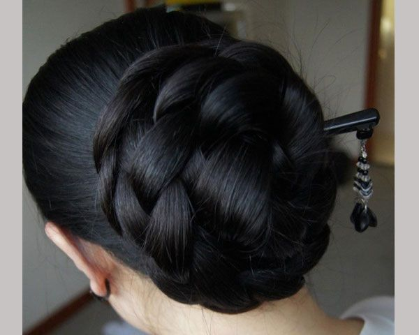 494 Best Images About Super Very Huge Buns Hair On Pinterest