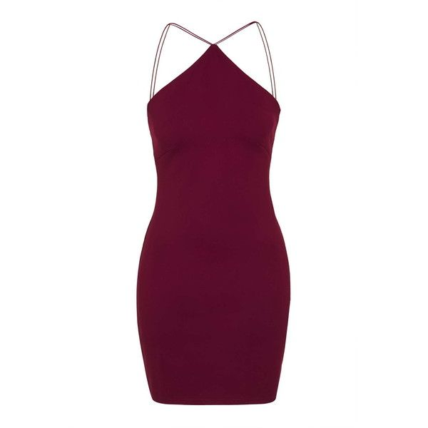 *Mini Bodycon Dress by Oh My Love (140 BRL) ❤ liked on Polyvore featuring dresses, vestidos, burgandy, cotton dress, bodycon dress, purple party dresses, bodycon mini dress and going out dresses