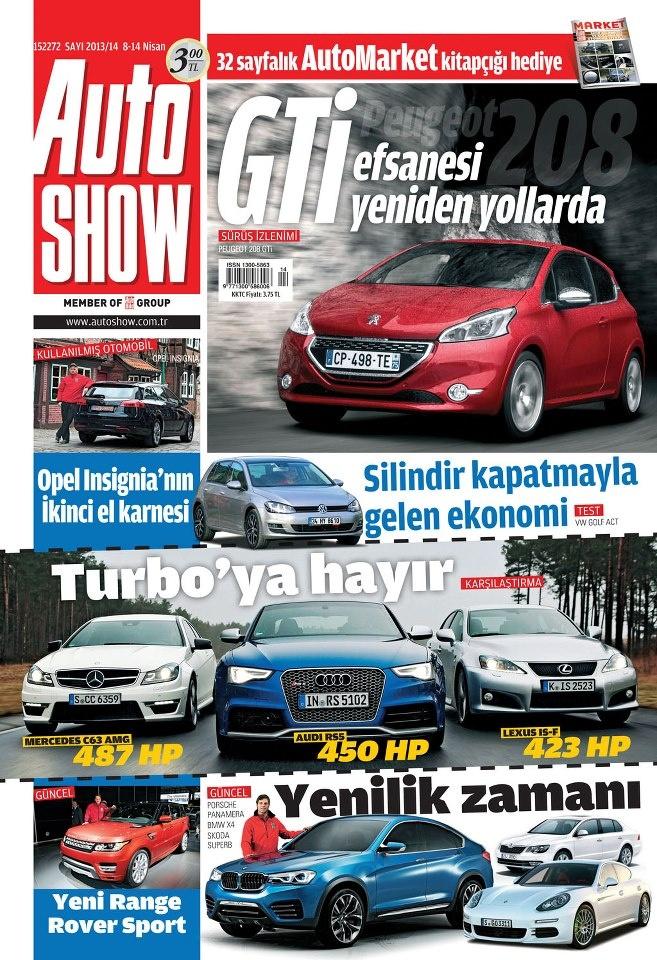 Autoshow dergisi, 8 - 14 Nisan sayısı yayında! Hemen okumak için: http://www.dijimecmua.com/autoshow/